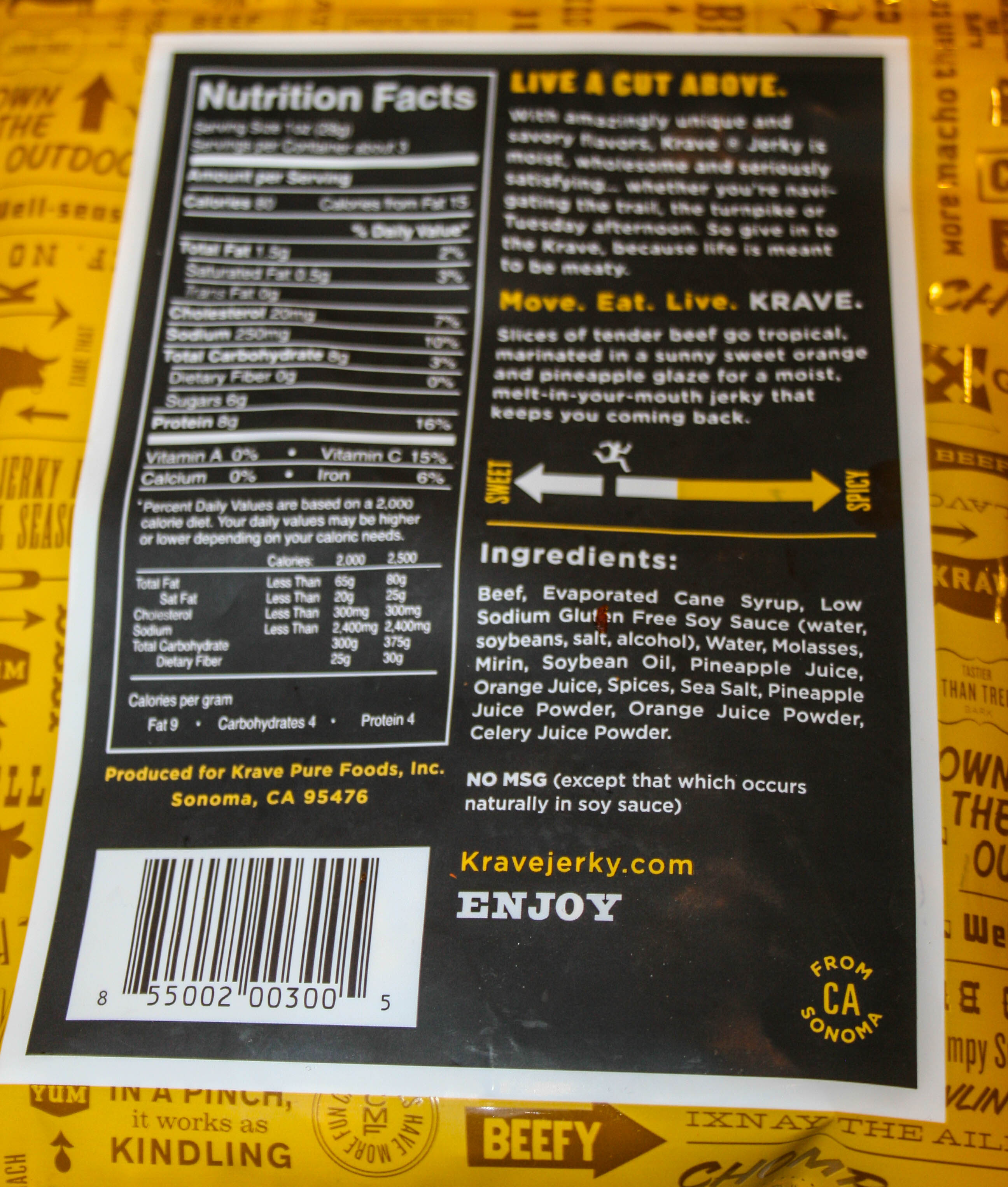 The ultimate meal nutrition facts