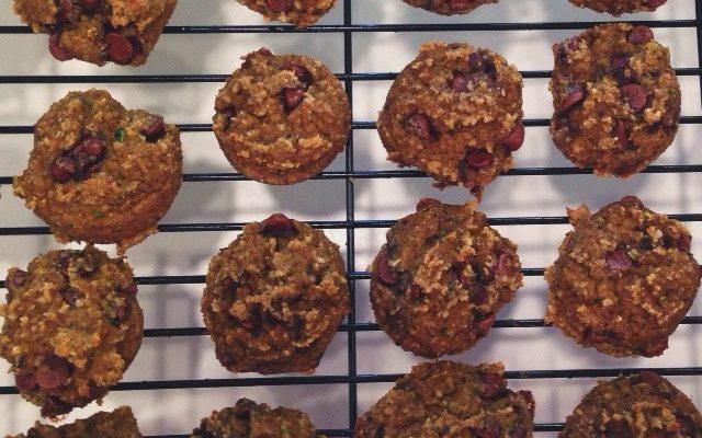 Paleo Zucchini Cookies