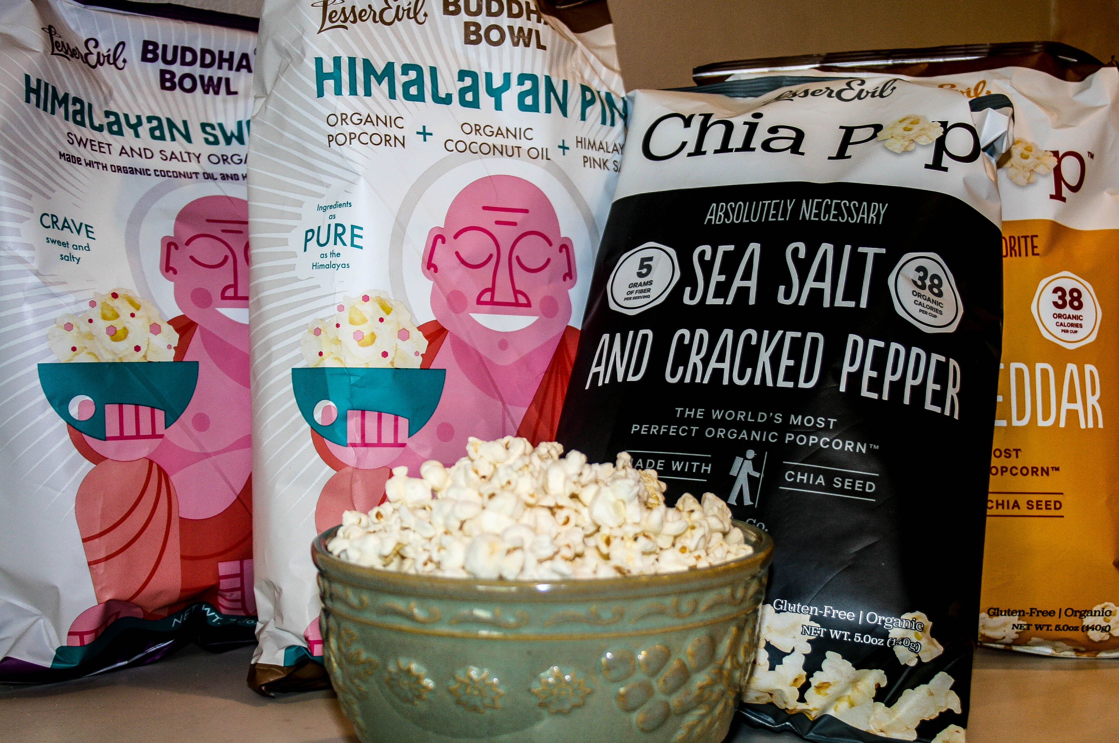 Product Review: Lesser Evil Popcorn